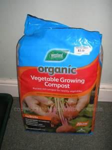 Seedling Rescue Plan - Westland Organic Vegetable compost